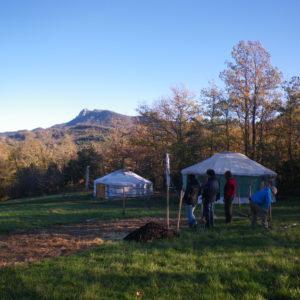 Le Village de Yourtes - Cubières 2011